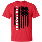 Chevy Colorado Truck American Flag T-Shirt