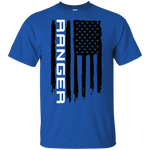 Ford Ranger XLT XL American Flag T-Shirt New