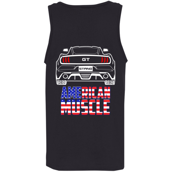 S550 Ford Mustang GT 5.0 American Muscle 2015 2016 2017 Tank Top Shirt