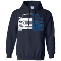 S550 GT350 Ford Mustang  Pullover Hoodie