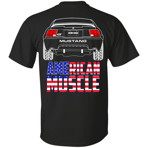 New Edge Ford Mustang GT American Muscle T-Shirt 1999 2000 2001 2003 2004