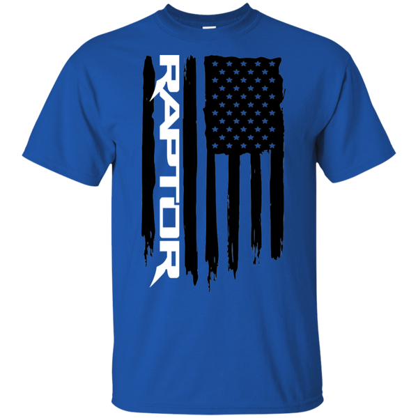 Raptor Ford F-150 American Flag T-Shirt New