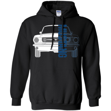 Classic Mustang Double Sided Hoodie
