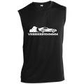 VRRRRRRRRMMMM Racing Burnout Sleeveless Performance T-Shirt