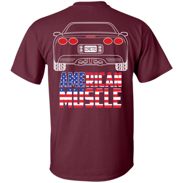 C5 Chevy Corvette American Muscle T-Shirt