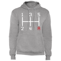 5-Speed Manual Stick Shift Pullover Hoodie