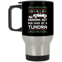 Wheel Spin Addict Tundra Truck Christmas Stainless Travel Mug
