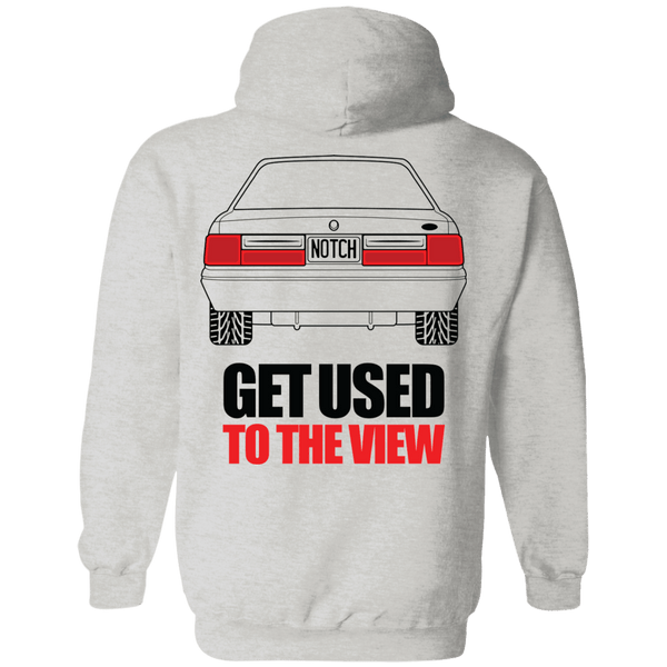 Foxbody Ford Mustang Notchback Pullover Hoodie
