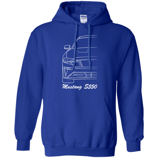 Ford Mustang S550 Pullover Hoodie 2018 2019