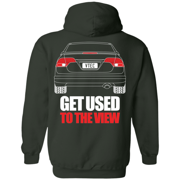 Honda Civic 8th Gen Si Pullover Hoodie