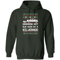 Chevy Silverado 2019-2020 Ugly Christmas Grandma Got Run Over Pullover Hoodie