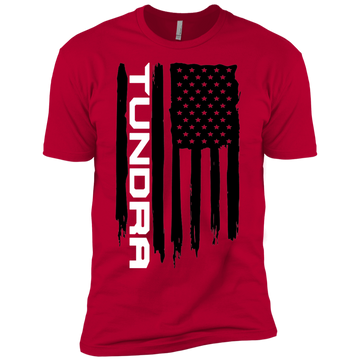 Youth Tundra SR5 TRD American Flag Boys' Cotton T-Shirt