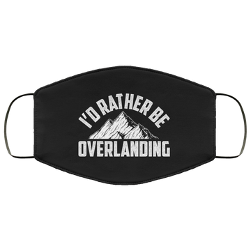 I'd Rather Be Overlanding Off-Road American Flag Face Mask