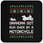 Wheel Spin Addict Motorcycle Christmas Coaster