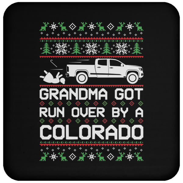 Wheel Spin Addict Colorado Truck Christmas Coaster