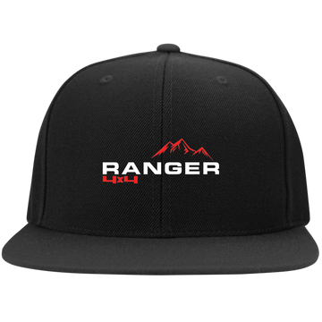 Ranger 4x4 Truck Flat Bill High-Profile Snapback Hat