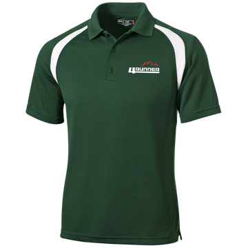 4Runner TRD SR5 Moisture-Wicking Tag-Free Golf Shirt