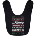 Wheel Spin Addict Toyota 4Runner Christmas Baby Bib