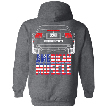 New Edge Ford Mustang Terminator American Muscle Pullover Hoodie 2003 2004