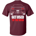 S550 Mustang Debadged Double Sided (18-Current) T-Shirt