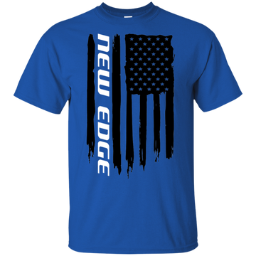 New Edge Ford Mustang 1999 2000 2001 2002 2003 2004 American Flag T-Shirt