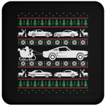 Wheel Spin Addict Mustang Christmas Coaster