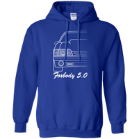 Foxbody Ford Mustang Pullover Hoodie