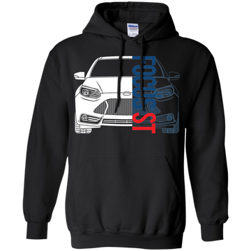 Ford Focus ST Pullover Hoodie ST2 ST3 2013 2014 2.0 Ecoboost