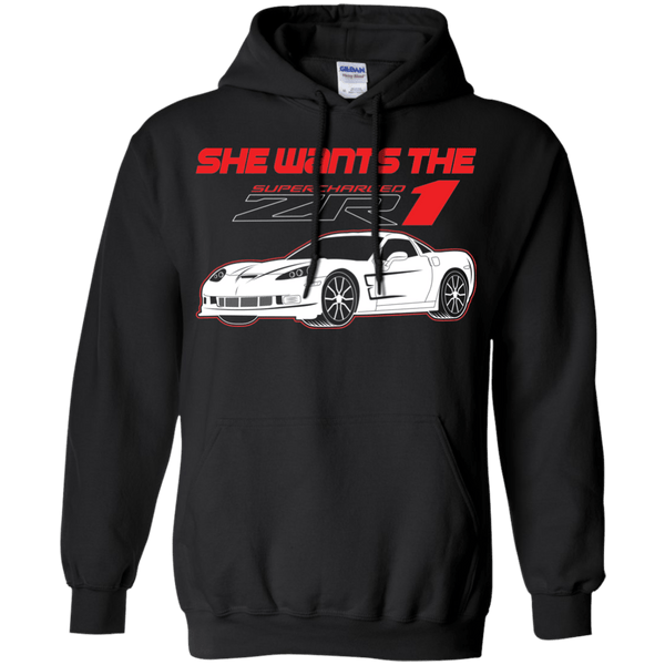 She Wants the ZR1 Hoodie