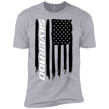 Youth Silverado 1500 2500 3500 Duramax American Flag Boys' Cotton T-Shirt