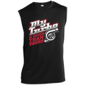 My Turbo Is Bigger Than Yours Racing Boosted Sleeveless Performance T-Shirt