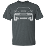 New Edge GT Ford Mustang Outline T-Shirt