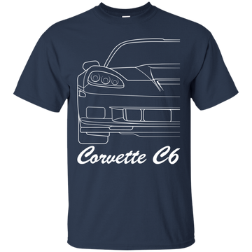Chevy Corvette C6 Outline T-Shirt