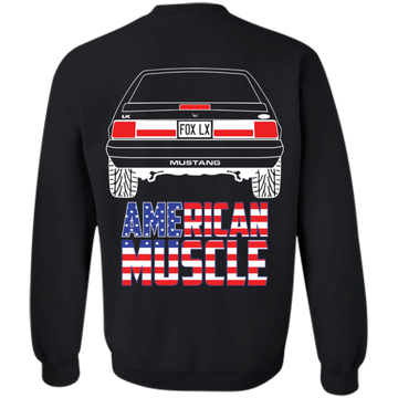 Foxbody Ford Mustang LX American Muscle Pullover Sweatshirt