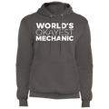 World's Okayest Mechanic Automotive Pullover Hoodie