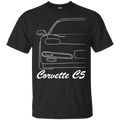 Chevy Corvette C5 Outline T-Shirt