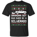 Chevy Silverado 2014-2018 Ugly Christmas Grandma Got Run Over T-Shirt