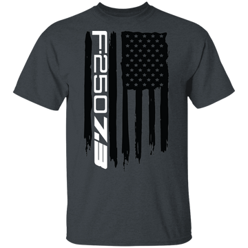 WSA F-250 7.3 Power Stroke F250 American Flag T-Shirt