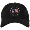 1776 Betsy Ross American Flag Unstructured Cap