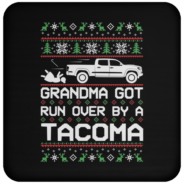 Wheel Spin Addict Tacoma Truck Christmas Coaster