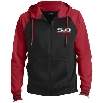 Coyote 5.0 Ford Mustang S550 S197 Full-Zip Hooded Jacket