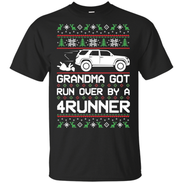 Toyota 4Runner Grandma Got Run Over Ugly Christmas T-Shirt