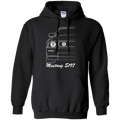 Ford Mustang S197 Outline Pullover Hoodie 2005 2006 2007 2008 2009