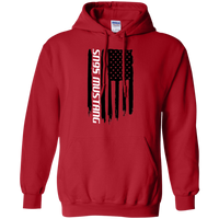 SN95 Ford Mustang 1994 1995 1996 1997 1998 American Flag Pullover Hoodie