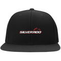 Silverado 1500 2500 3500 Flat Bill High-Profile Snapback Hat