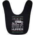 Wheel Spin Addict Hummer H2 Christmas Baby Bib