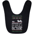 Wheel Spin Addict Electra Glide Christmas Baby Bib