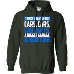 Car Parts/Things I Want in Life Hoodie