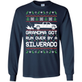 Chevy Silverado Classic Ugly Christmas Grandma Got Run Over T-Shirt