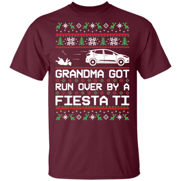 Ford Fiesta Titanium Ugly Christmas T-Shirt